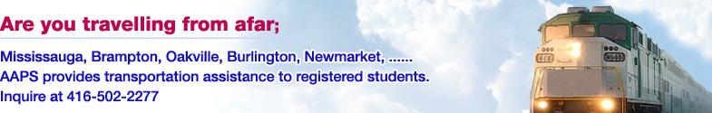 Transportation Assistance for Registered Students
