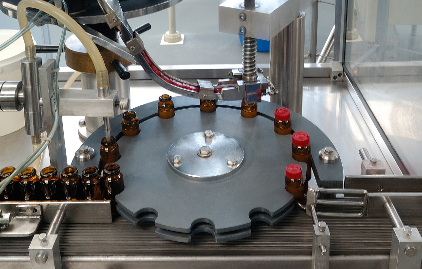 Pharmaceutical quality assurance professionals evaluate each step of the production process