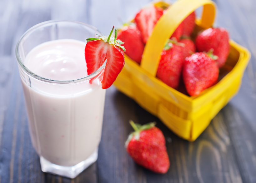 Adding fruit to kefir can help your clients reduce its often sour taste