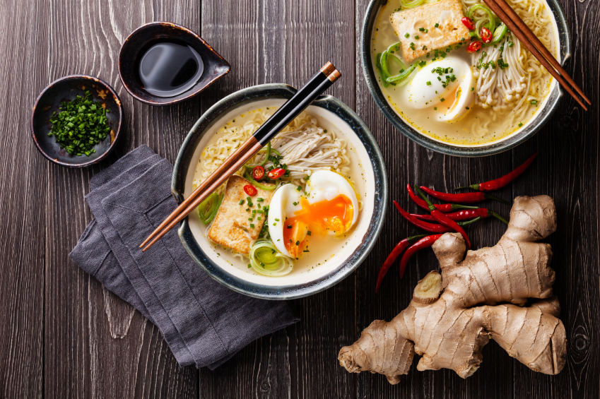 Miso soup is a tasty vehicle for healthy bacteria