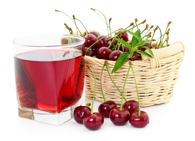 Professionals with nutrition and health training recommend sour cherries