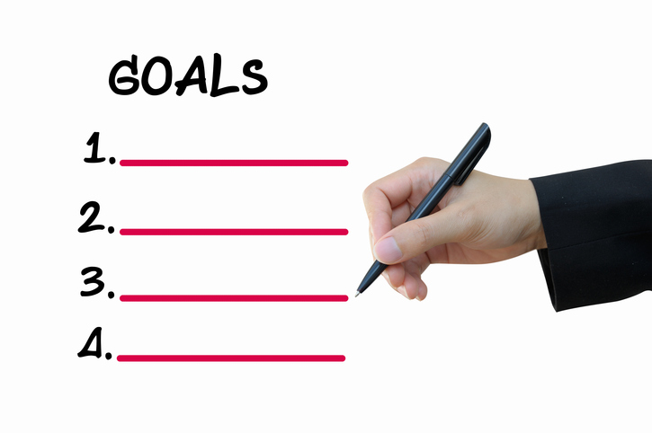 Setting goals can help get everyone in the team on the same page