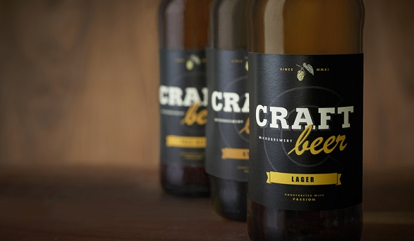 Craft beer labels are rarely generic and often used to grab attention away from competitors