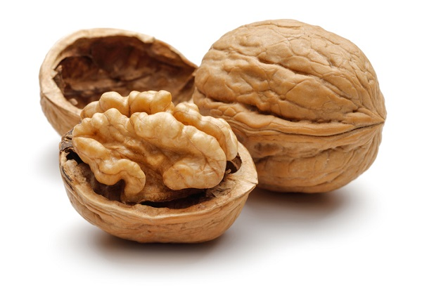 Walnuts are a plant-based source of omega-3 fatty acids, for clients who don't eat fish