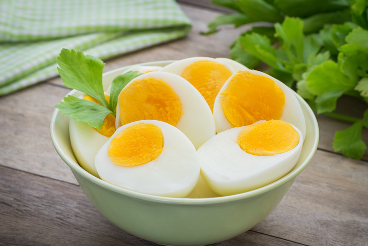 Eggs are an excellent source of the vitamin B12 older clients need
