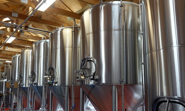 Cannabis infusion is very different from brewing beer, but the facilities look similar
