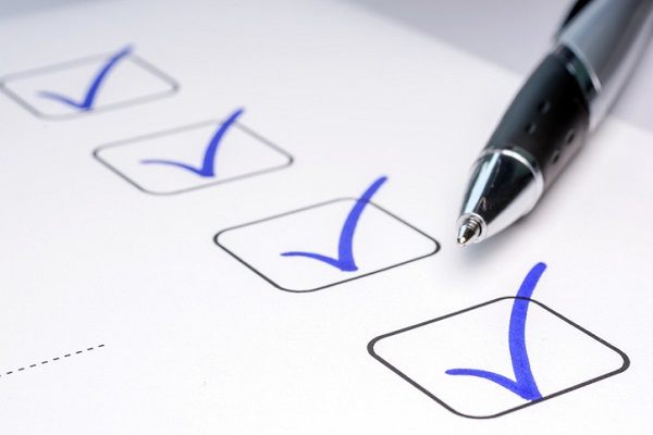 Keep checklists and schedules organized so you always know what's going on with inventory