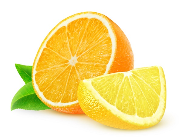 Oranges and lemons were given to scurvy patients in Lind's trial