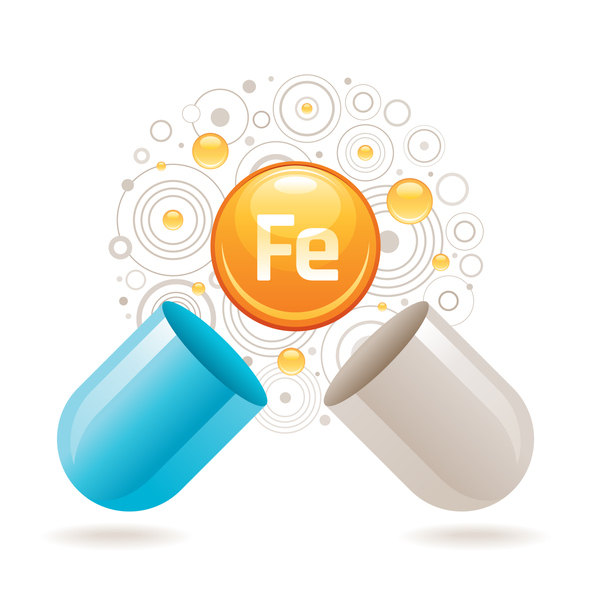 Iron helps the body with functions such as transporting oxygen to tissues and cognitive development
