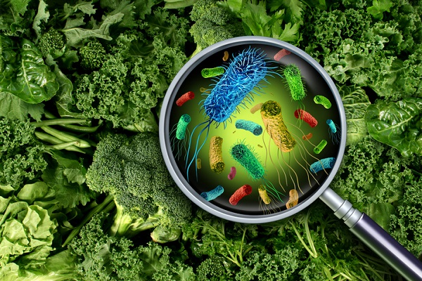 Cross-contamination is often involved in outbreaks of foodborne illness