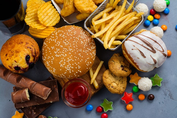 Junk food is high in bad carbs and offers little nutritional value