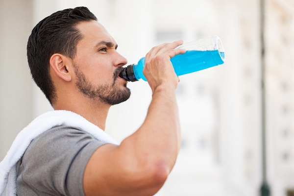 Sports drinks are beneficial after warm weather exercise